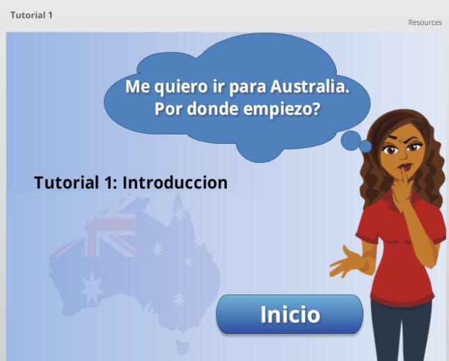 Tutorial 1 - Me quiero ir para Australia, por donde empezar?