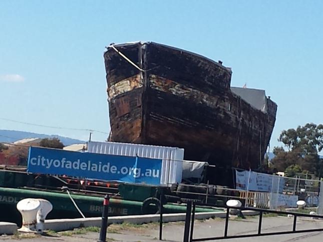 Clipper Ship en Port Adelaide.