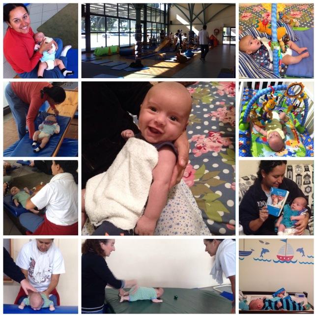 Collage - Actividads con el bebé